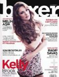 Kelly Brook on the cover of Boxer (Turkey) - November 2012