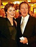 Geoffrey Rush and Jane Menelaus