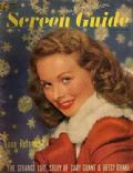 Jeanne Crain on the cover of Screen Guide (United States) - December 1948