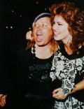 Jessica Hahn and Sam Kinison