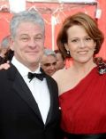Jim Simpson and Sigourney Weaver