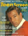 Richard Chamberlain on the cover of Teen Screen (United States) - October 1962
