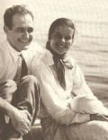 Katharine Hepburn and Ludlow Ogden Smith