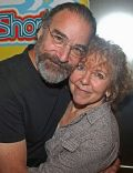 Kathryn Grody and Mandy Patinkin