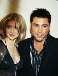 Oscar De La Hoya and Millie Corretjer
