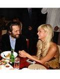 Paris Hilton and Vincent Gallo