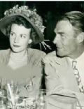 Randolph Scott and Marie Patricia Stillman