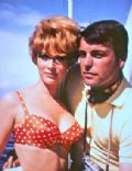 Robert Wagner and Jill St. John