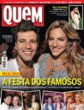 Bruno Gagliasso, Giovanna Ewbank, Juliana Paes on the cover of Quem (Brazil) - January 2013
