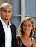 David Trezeguet and Beatrice Villalva