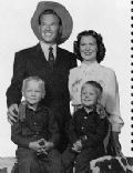 Rex Allen and Bonnie Linder