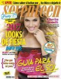 Cecilia Boneli on the cover of Seventeen (Argentina) - November 2010
