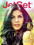 África Zavala on the cover of Jet Set (Nicaragua) - August 2014
