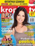 Katarzyna Glinka on the cover of Kropka TV (Poland) - November 2013
