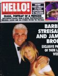 Barbara Streisand on the cover of Hello (United Kingdom) - July 1998