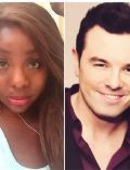 Simenona Martinez and Seth MacFarlane
