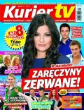 Agnieszka Sienkiewicz on the cover of Kurier TV (Poland) - November 2012