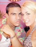 Joana Prado and Vitor Belfort