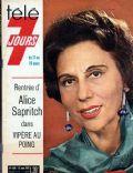 Télé 7 Jours Magazine [France] (13 March 1971)