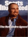 Andre Agassi on the cover of Sports Illustrated (United States) - March 1995