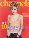 Brittany Murphy on the cover of Channels (United States) - September 2000
