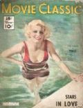 Jean Harlow on the cover of Movie Classic (United States) - July 1934