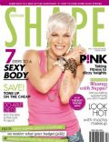 Pink on the cover of Shape (Australia) - May 2010