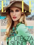 Linda Vojtova on the cover of Elle (Czech Republic) - December 2012