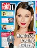 Katarzyna Glinka on the cover of Fakt TV (Poland) - February 2014