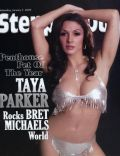 Taya Parker on the cover of Steppin Out (United States) - January 2009