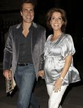 Natasha Kaplinsky and Justin Bower