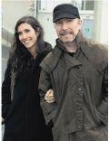 The Edge and Morleigh Steinberg