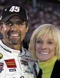 Kyle Petty and Pattie Huffman
