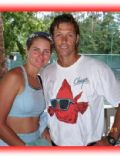 Kim Alexis and Ron Duguay