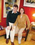 Judith Belushi-Pisano and Victor Pisano