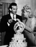 Betty Grable and Harry James
