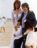 Dudley Moore and Nicole Rothschild
