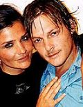 Helena Christensen and Norman Reedus