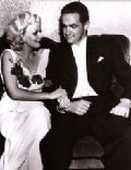 Howard Hughes and Jean Harlow