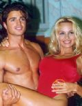 Pamela Anderson and David Charvet