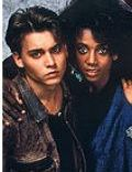 Johnny Depp and Holly Robinson Peete