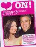 George Clooney and Lucy Liu