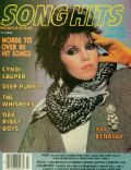 Pat Benatar on the cover of Song Hits (United States) - July 1985
