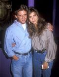 Jennifer Aniston and Charlie Schlatter