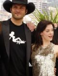 Rose McGowan and Robert Rodriguez