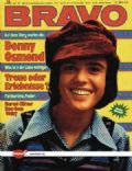 Donny Osmond on the cover of Bravo (Germany) - April 1973