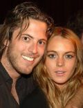 Lindsay Lohan and Harry Morton