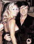 Hugh Hefner and Sondra Theodore