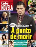 Amores verdaderos, Eduardo Yáñez on the cover of Tele Novela (Spain) - October 2012