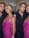 Mark McGrath and Paris Hilton
